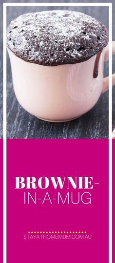 Brownie-In-A-Mug | Stay At Home Mum