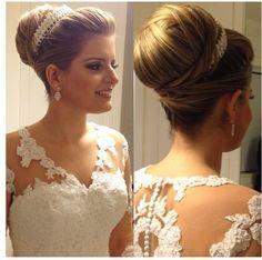 Hair & Makeup for a Wedding. Princess Natalia Simoes.