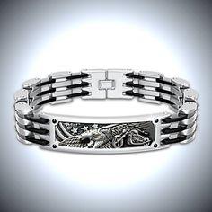 Born To Ride Men's Motorcycle Bracelet