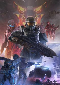 ArtStation - Halo 5: Guardians, Darren Bacon