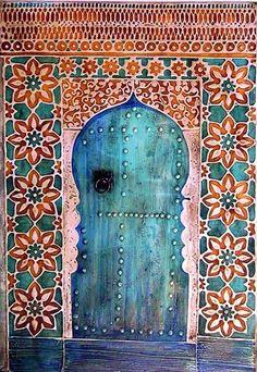 Lovely unique door