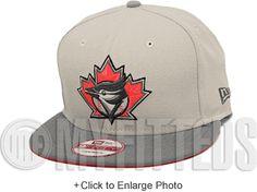 Toronto Blue Jays Sand Stone Placid Grey Infrared Lava White New Era Snapback