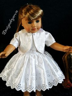 American+Girl+doll+and+18+doll+4+piece+Top+skirt+by+designsbyorvie,+$28.95