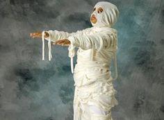 Mummy Costume Craft