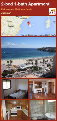 2-bed 1-bath Apartment in Palmanova, Mallorca, Spain ►€315,000 #PropertyForSaleInSpain