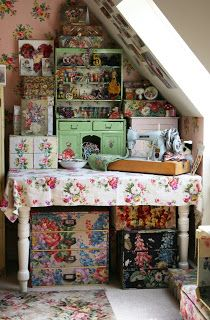 Maggie Neale's workroom - From my book - Living with Nostalgia