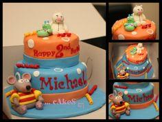 Toopy and Binoo Themed Cake!