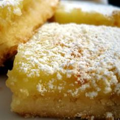 The Holy Bible of Recipes: The Best Lemon Bars
