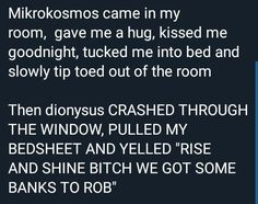 Mikrokosmos is playing during the final scene of a coming of age movie where the friend group drives off into the sunset and Dionysus is playing when you're kneeling on a tabletop four shots in headbanging like your life depends on it Bts Boys, Bts Bangtan Boy, Jimin, Got7 Bambam, K Pop, Baekhyun, Mamamoo, Jikook, Shinee