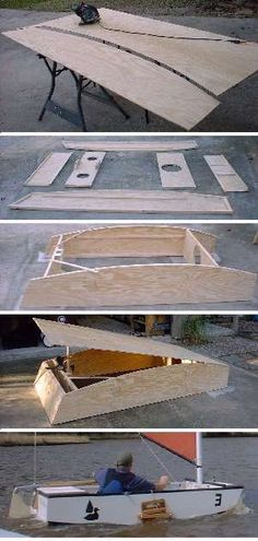 Puddle Duck Racer - Easiest Sailboat to Build and Race