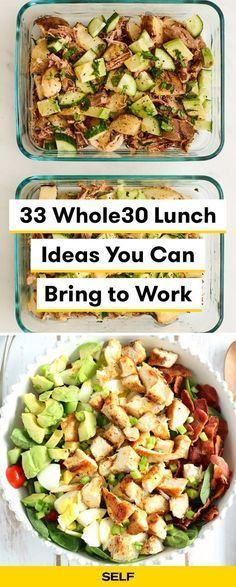 Lunch Ideas You Can Bring to Work - Completing requires some serious meal prep. Here are 33 tasty (and easy) l Lunch Ideas You Can Bring to Work - Completing requires some serious meal prep. Here are 33 tasty (and easy) l - Magic Slicer Trio - ⭐⭐⭐⭐⭐ Th. Whole Foods, Whole 30 Diet, Paleo Whole 30, Whole Food Recipes, Healthy Recipes, Easy Whole 30 Recipes, Paleo Lunch Recipes, Whole Food Diet, Chili Recipes