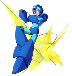 Mega Man X from Project X Zone 2