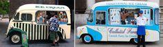 Dark Roasted Blend: Cute Vintage Ice Cream Trucks