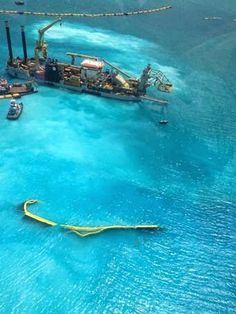 Artificial Reef Sustainable Design Blog: Cayman Islands - Dredge to Reefs Solution?
