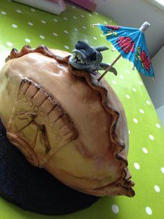 Cornish Pasty Birthday Cake