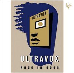 Ultravox, 'Rage in Eden', Original cover