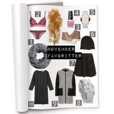 """November Favoritter"" by style-rg on Polyvore #høst #favoritter #mote #fashion #Månedens må-ha #må ha #must have #Stil #style #stylish #AlexanderMcQueen #celebstyle #CelebrityStyle"