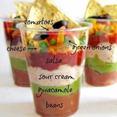 http://www.spendwithpennies.com/recipe-7-layer-dip-cups/