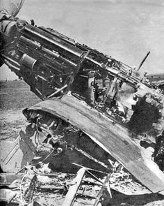 Destroyed MiG – 1, June 22nd – 1941 Russia