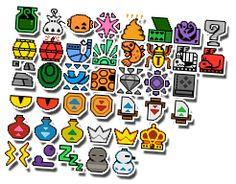 Monster Hunter Stickers by Neslug on DeviantArt Monster Hunter, Hunter Tattoo, Needle And Thread, Bead Crafts, Perler Beads, Cross Stitching, Beading Patterns, Pixel Art, Stickers