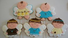 ANGELES(Niños) by Galletas divertidas, via Flickr