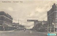 San Angelo, Texas probably in the 50's