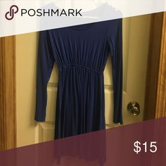 Dress Long sleeved blue dress. Reasonable offers accepted! Dresses