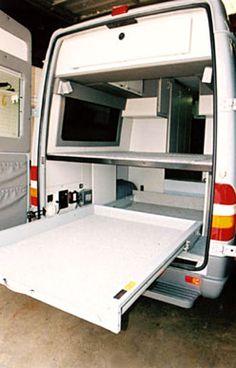 Sportsmobile Custom Camper Vans - Toy Haulers