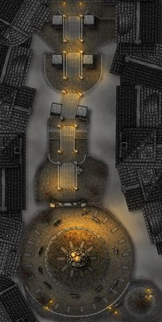 Stairs to Amelia's Cathedral (Bloodborne) [30x60] : battlemaps Fantasy Town, Fantasy World Map, Dnd World Map, Pathfinder Maps, Pen And Paper Games, Scale Map, Dungeons And Dragons Game, Dungeon Maps, Call Of Cthulhu