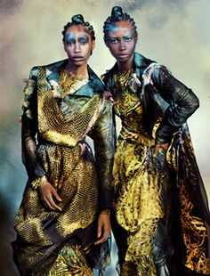 the collective: kate menson, amber camara, venantia otto, patricia laloyo and senait gidey by marguerite oelofse for marie claire south africa august 2012