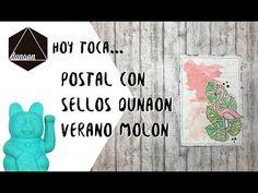 """(5) Postal con sellos Dunaon """"Verano molon"""" - YouTube"""