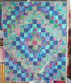 Patchwork and quilt fabric kits from Tikki London