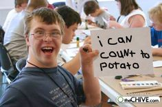 i can count to potato SIGN - Google Search