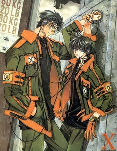 X 1999 Kamui manga clamp x kamui fuma more clamp manga art google 1999 manga 1999 ...