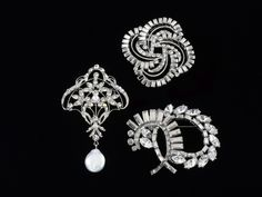 Complete your look with a sparkle of icy diamonds by Homa