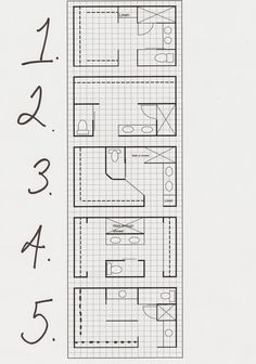 8 x 12 master bathroom floor plans - Google Search ...