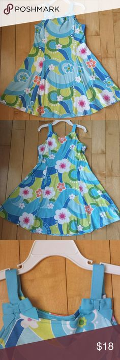 Gymboree Dress Super cute Gymboree Dress, immaculate condition. No rips, tears or stains. See pictures for material details. Gymboree Dresses