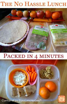 See how to pack a healthy lunch in just 4 minutes with @EasyLunchboxes