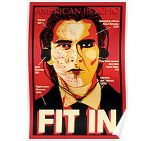 American Psycho: Fit In Movie Poster Poster