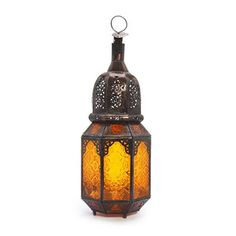 Arabian Nights Lantern - Orange