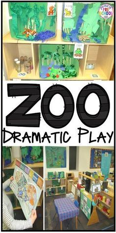 how to change the dramatic play center into a zoo and embed stem and literacy into their play. perfect for preschool, pre-k, and kindergarten. Dramatic Play Themes, Dramatic Play Area, Dramatic Play Centers, Preschool Zoo Theme, Preschool Science, Preschool Activities, Preschool Education, Art Education, Teaching Resources