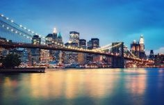 bridge, city, lights, new york city, photography Lower Manhattan, Oh The Places You'll Go, Places To Visit, New York City, Capital Social, Top 10 Destinations, Web Design, Night City, City Photography