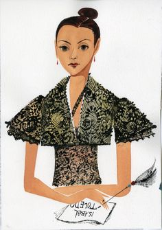 fashion designer Isabel Toledo from 55secretstreet.typepad.com (don't know who made image)