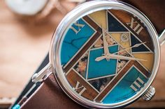 Americana Project by Brillier, with hard stone dial