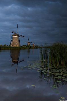 Rainy days in Kinderdijk