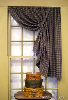 1000 images about primitive window treatments on for Colonial window designs