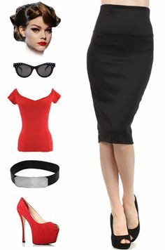 New in store at Le Bomb Shop.. A closet staple every girl needs to own.. the black high waist pencil skirt. Available in sizes small, medium, large, 1X, 2X, and 3X for only $20 with FREE U.S. s/h!! Buy it here: http://lebombshop.net/products/stylish-staple-high-waist-pencil-skirt-black