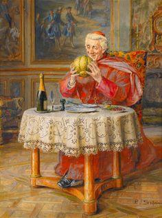 Paul Schaan Paul Schaan (1857-1924) —   The Melon (840×1135) http://www.pinterest.com/pin/357402920401609647/