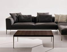 Small Table: MICHEL - Collection: B&B Italia - Design: Antonio Citterio