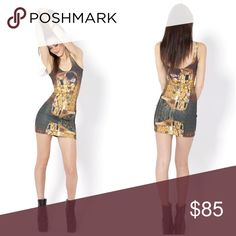 {blackmilk} klimt the kiss dress NWOT The iconic Der Kluss from Gustav Klimt. NWOT. Got this and took off tags but no occasion to wear. Your gain! Blackmilk Dresses